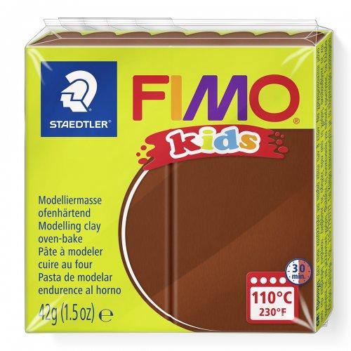 Modelovací hmota Fimo kids 42g hnědá