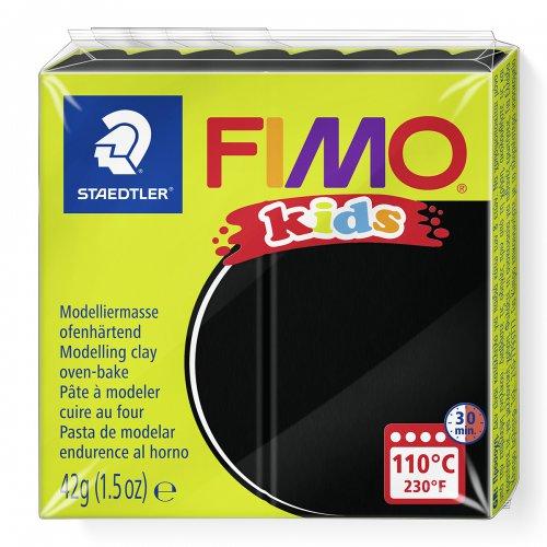 Fimo kids 42g - dětská modelovací hmota černá