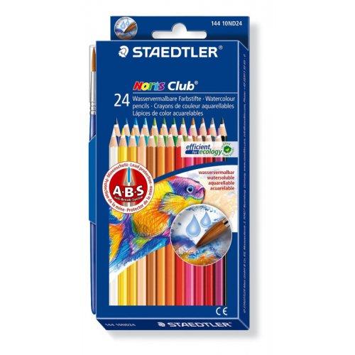 Akvarelové pastelky 24 barev ve dvou řadách