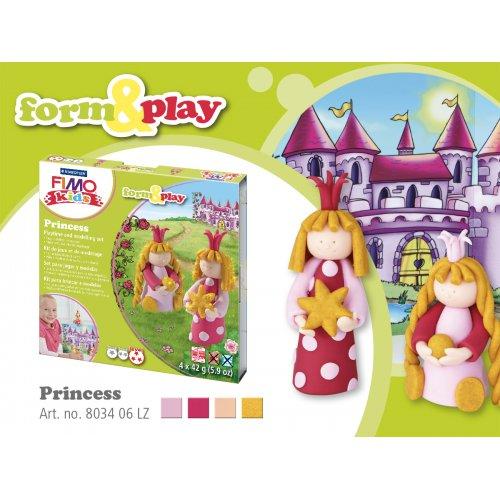 Sada Fimo kids Form & Play Princezny - 803406-image2.jpg