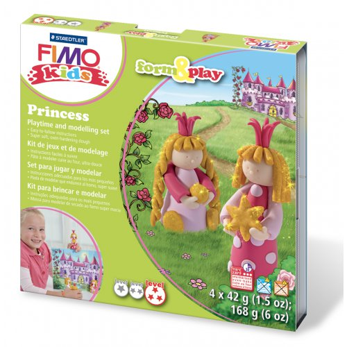 Sada Fimo kids Form & Play Princezny
