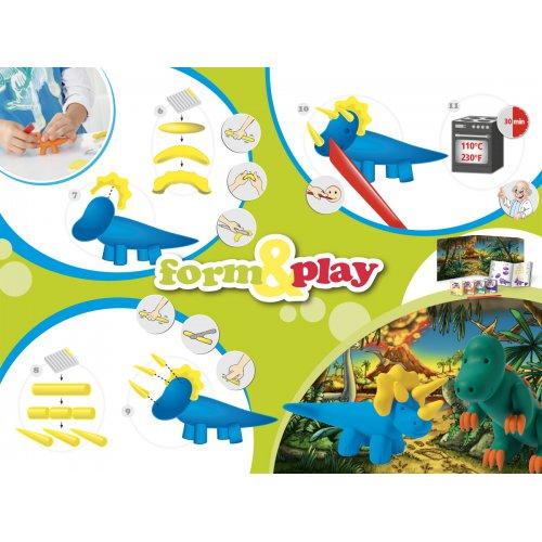 Sada Fimo kids Form & Play Dinosauři - 803407-image2.jpg