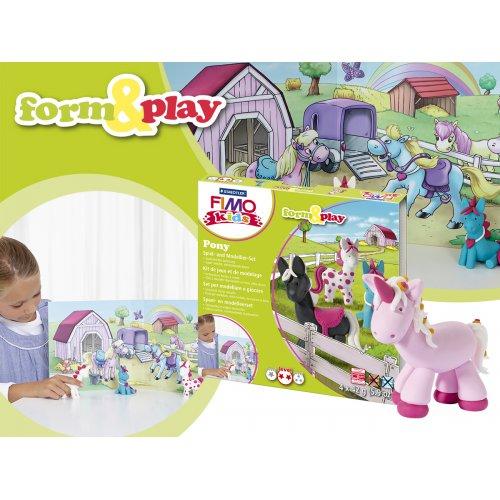 Sada Fimo kids Form & Play Poníci - 803408-image2.jpg