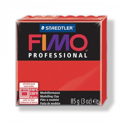 FIMO Professional ČERVENÁ ZÁKLADNÍ 85 g