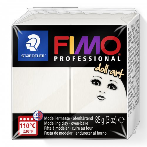 FIMO professional DollArt 85g porcelánová poloprůsvitná