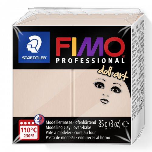 FIMO professional DollArt 85g světle růžová poloprůsvitná
