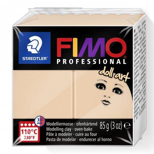 FIMO professional DollArt 85g tmavě béžová