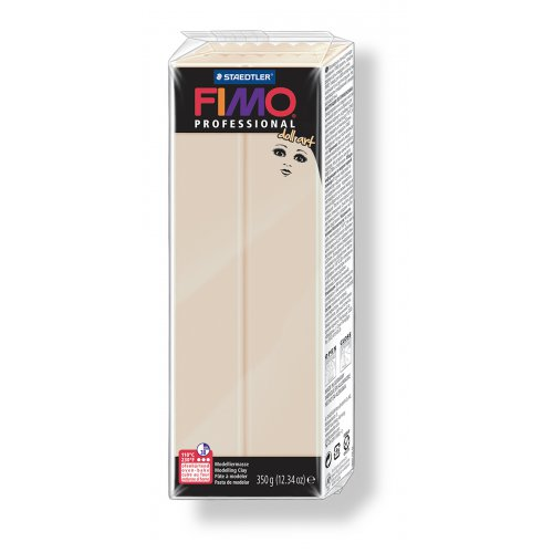 FIMO professional DollArt 350g světle béžová poloprůsvitná