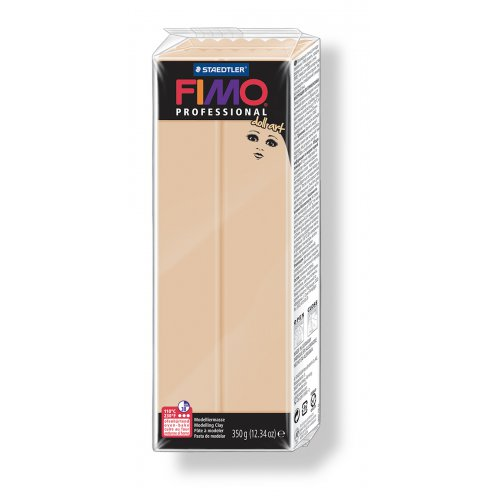 FIMO professional DollArt 350g písková