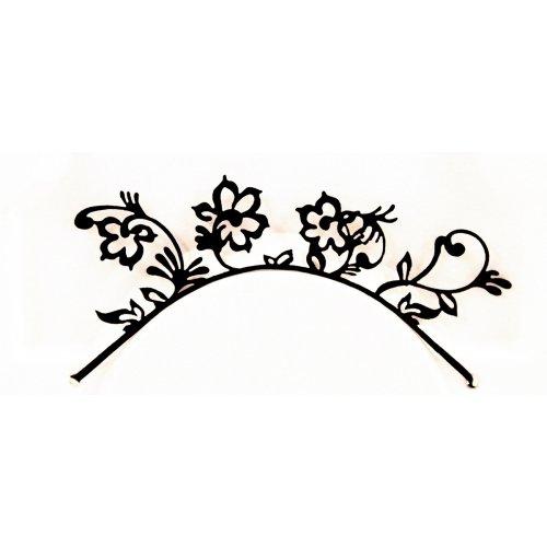 3D Řasy papírové - Květiny