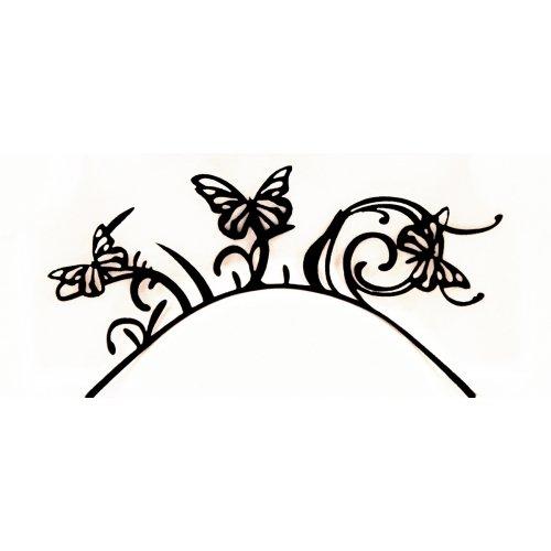 3D Řasy papírové - Motýl