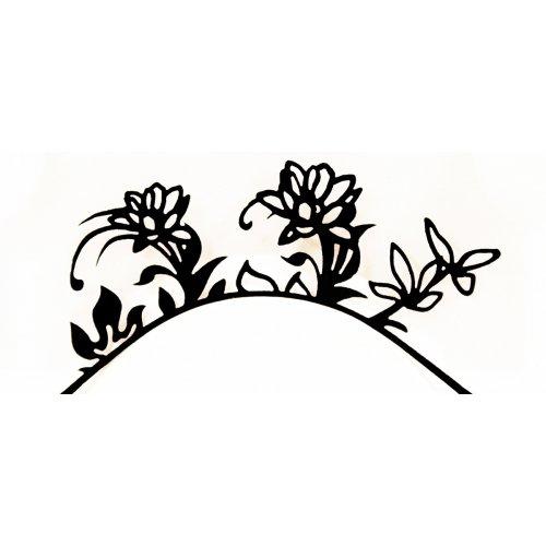 3D Řasy papírové - Síla květin