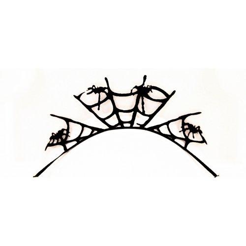 3D Řasy papírové - Černý pavouk