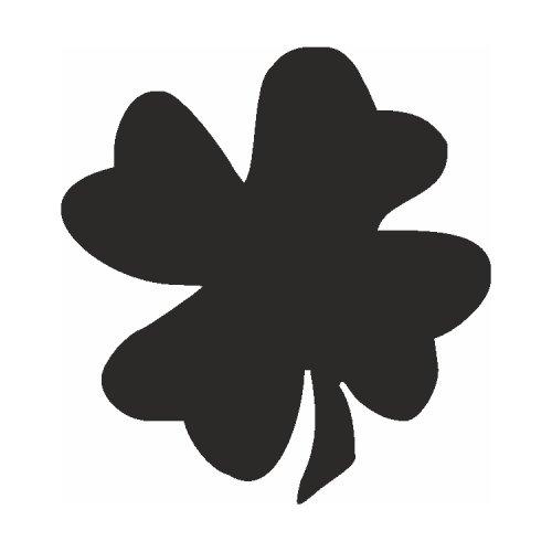 Samolepící šablony - Čtyřlístek