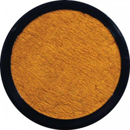 Barva na obličej 12 ml Perleťová Zlatožlutá