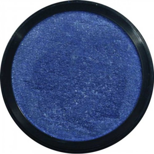 Barva na obličej 12 ml Perleťová Námořní modrá