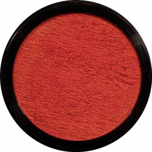 Barva na obličej 12 ml Perleťová Ohnivá oranžová