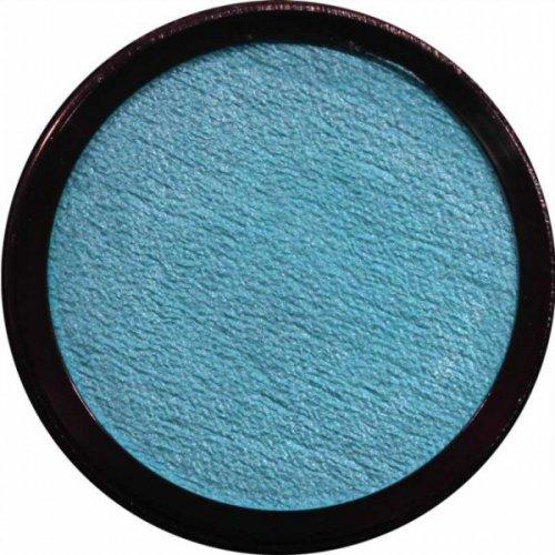 Barva na obličej 20 ml Perleťová Světle modrá