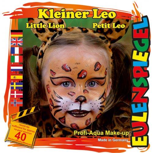 Sada barev na obličej - Malý lev