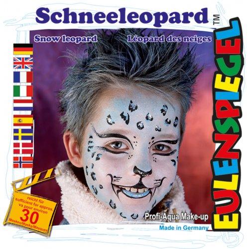 Sada barev na obličej - Sněžný leopard