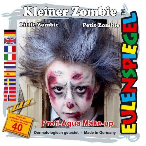Sada barev na obličej - Malá Zombie
