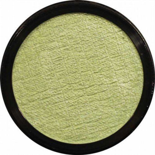 Barva na obličej 3,5 ml Perleťová světle zelená