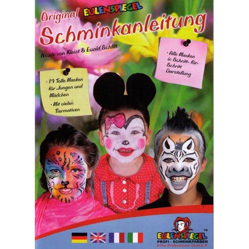 Brožura Malování na obličej s 19 dětskými motivy