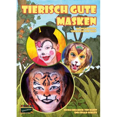 Brožura Malování na obličej - Zvířecí motivy