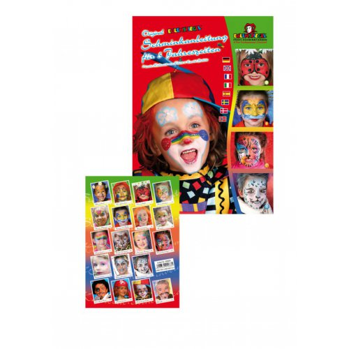 Brožura Malování na obličej - Motivy pro děti od 5 let