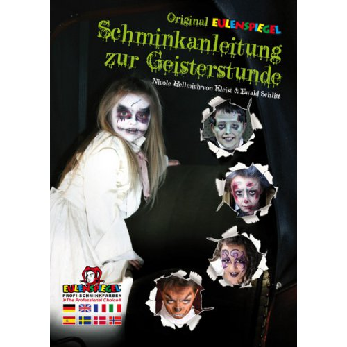 Brožura Malování na obličej - Halloween masky
