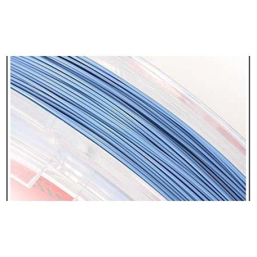 Nylonové lanko 2m modrý pastel č.10