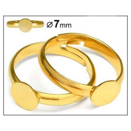 Prsten lepící 2ks zlato
