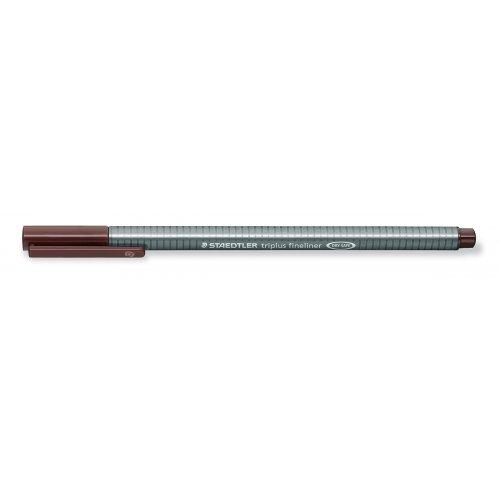 """Liner """"Triplus"""", hnědá, 0,3mm, STAEDTLER"""