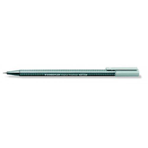 """Liner """"Triplus 334"""", stříbrná šedá, 0,3mm, STAEDTLER"""