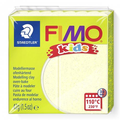 Fimo kids 42g - dětská modelovací hmota perleťová žlutá