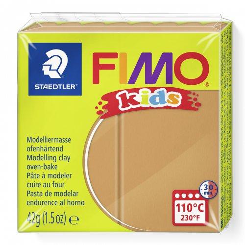 Modelovací hmota Fimo kids 42g světle hnědá