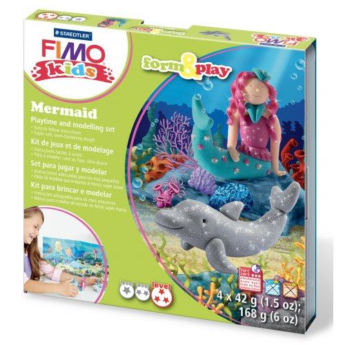 Sada Fimo kids Form & Play Mořské víly