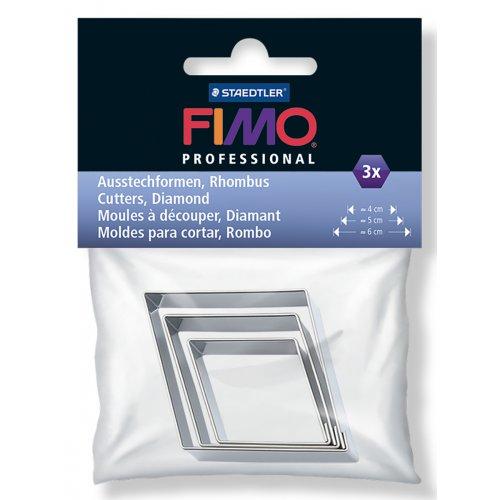 FIMO vykrajovátka - Diamant 3 velikosti