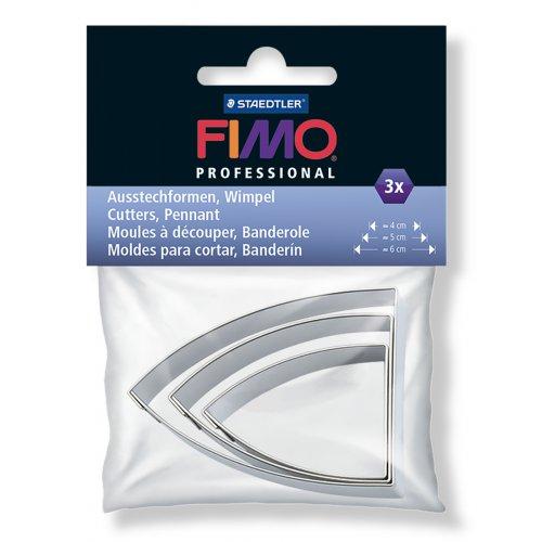 FIMO vykrajovátka - Pennant 3 velikosti
