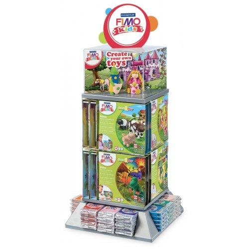Display Fimo kids - Tower - Bloky 42 g + Dětské sady