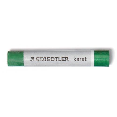 Olejový pastel KARAT STAEDTLER - barva tmavě zelená