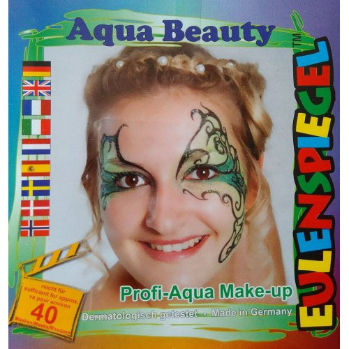 Sada barev na obličej -  Vodní víla