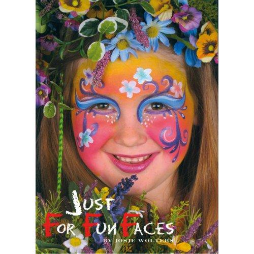 Kniha malování na obličej - Just For Fun Faces v angličtině