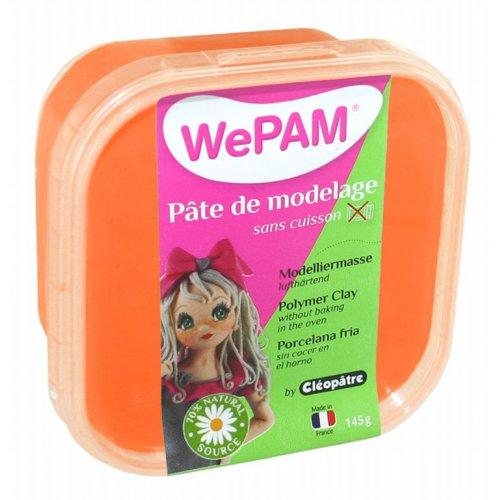 Samotvrdnoucí polymerová modelovací hmota WePAM 145g - Oranžová