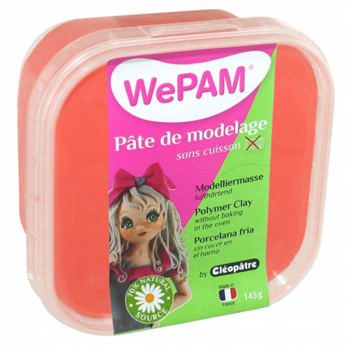 Samotvrdnoucí polymerová modelovací hmota WePAM 145 g - Červená