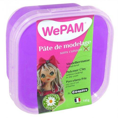 Samotvrdnoucí polymerová modelovací hmota WePAM 145g - Fialová
