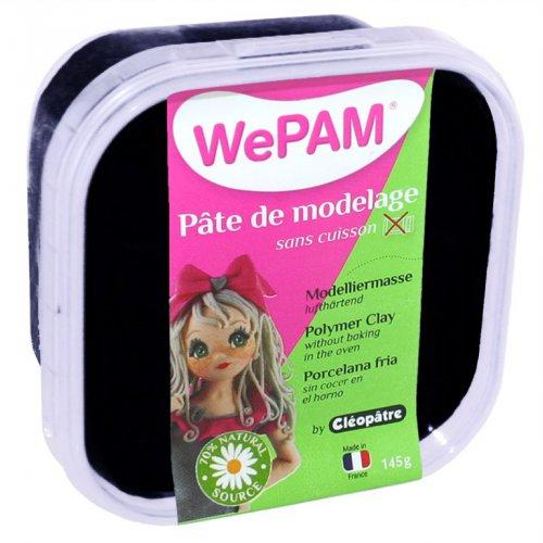 Samotvrdnoucí polymerová modelovací hmota WePAM 145g - Černá