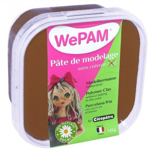 Samotvrdnoucí polymerová modelovací hmota WePAM 145 g - Čokoládová