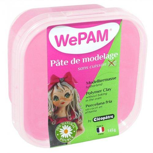 Samotvrdnoucí polymerová modelovací hmota WePAM 145g - Mandlově růžová