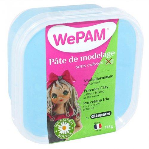 Samotvrdnoucí polymerová modelovací hmota WePAM 145g - Azurová